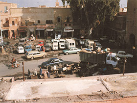 Guarded Parking Marrakesh by Birthe Blauth is about the many things that escape our notice.